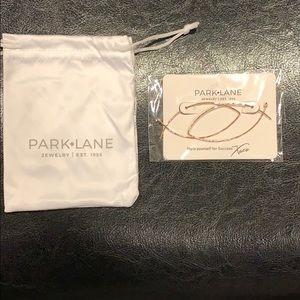 Park Lane Twizzler Earrings Rose Gold